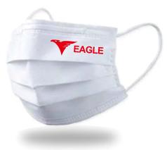 三層不織布マスク 個包装 1色名入れ込み
