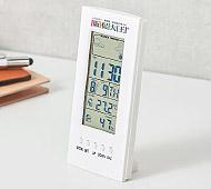 温湿度計付デジタルクロック フルカラー名入れ代込み