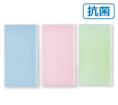 抗菌マスクケース(ドット)日本製 箔押し名入れ代込み