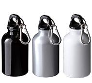 アルミボトル300ml カラビナ付