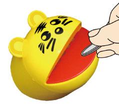 パックリタイガー 貯金箱(日本製)
