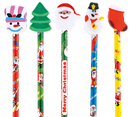 消しゴム付鉛筆(クリスマス)