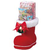 クリスマス ミニブーツ(大)お菓子入