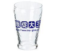 炭酸水グラス(中)(245ml)日本製 全周名入れ専用