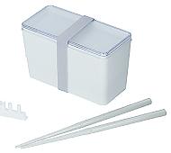 クリアランチボックス(箸付)