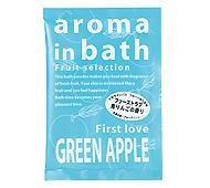 アロマインバス グリーンアップルの香り(日本製)