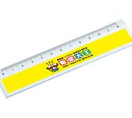 12センチ定規 フルカラー専用(透明)