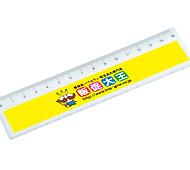 15センチ定規 フルカラー専用(透明)