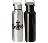 ステンレスダブルウォールボトル(500ml) 回転シルク印刷