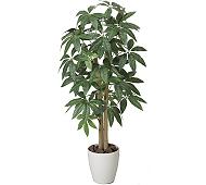 光触媒 人工観葉植物 パキラ1.0