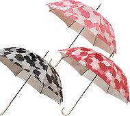 フローリア 晴雨兼用UVカット長傘 (手開き式)