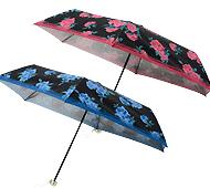ローズブライト晴雨兼用折りたたみ傘