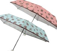 セピアローズ晴雨兼用折りたたみ傘