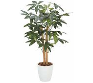 光触媒 人工観葉植物 パキラ90