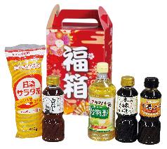 紅富士福箱 さしすせそ調味料5点セット