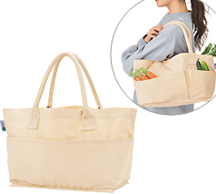 プラスチックスマートコットンベジタブルバッグ