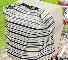 ママハピ 自転車前かごカバー