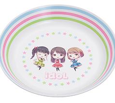 フルカラー対応R-PET 丸皿M (日本製)