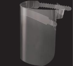 飛沫感染対策用フェイスガードシート(日本製)