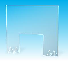 飛沫感染対策パーテーション(窓あり)