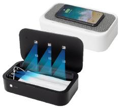 UV除菌ボックス ワイヤレス充電機能付き