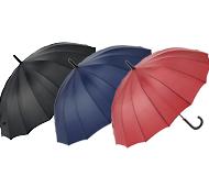 プレーンカラー16本骨傘