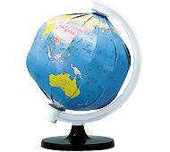 ペーパークラフト地球儀