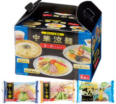 ボリューム満点 中華涼麺食べ比べ6食入