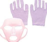 うるり肌シリコンマスク&ナイトケア手袋