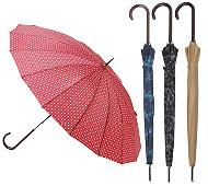 モダン和柄16本骨傘