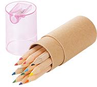 シャープナー付色鉛筆(12本)名入れ代込み