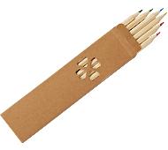 ナチュラル色鉛筆(6本入) 名入れ代込み