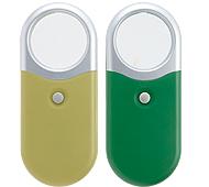 LEDライト付コンパクトルーペ(2倍)  名入れ代込み
