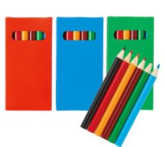プチ色鉛筆6本入り