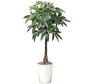 光触媒 人工観葉植物 パキラ1.25