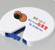 袋とじ丸(M)ネオジウムマグネット付(フルカラー名入れ専用)