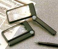 折りたたみライト付拡大鏡