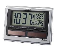 シチズン パルデジットソーラーR125(電波時計)