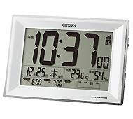 シチズン パルデジットワイドDL 電波時計