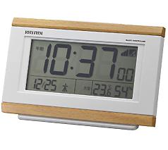 リズム時計 パルデジットキング 電波時計
