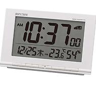リズム時計 フィットウェーブD193 電波時計