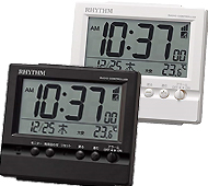 リズム時計 フィットウェーブヴィスタ 電波時計
