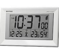 リズム時計 フィットウェーブD204 電波時計