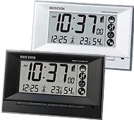 リズム時計 フィットウェーブD207 電波時計