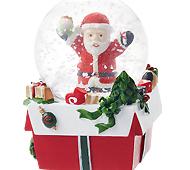 クリスマスウォータードーム