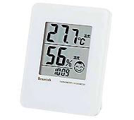 環境アイコン付温湿度計
