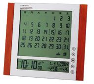 デジタルカレンダー電波時計