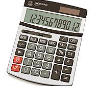 ビッグディスプレイ セミデスク12桁電卓