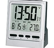 大画面目覚まし電波クロック NA-921