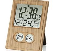 木目調 電波時計
